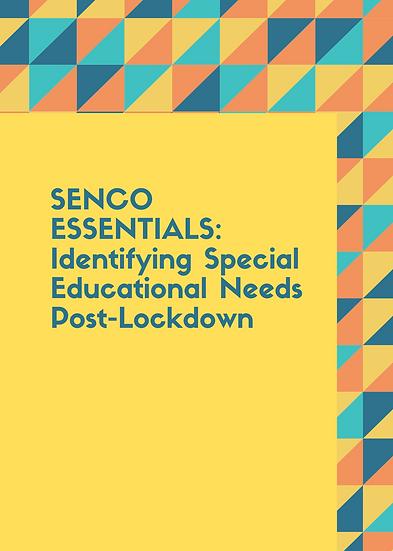 SENCO Essentials: Identifying Special Educational Needs Post-Lockdown