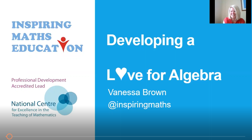 Developing a Love for Algebra