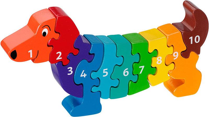 Dog 1-10 Puzzle by Lanka Kade