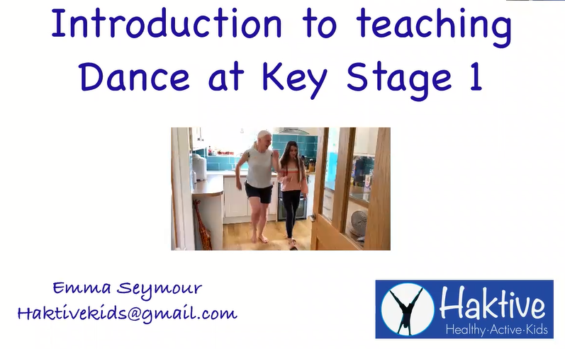 An Introduction to Teaching Dance in KS1