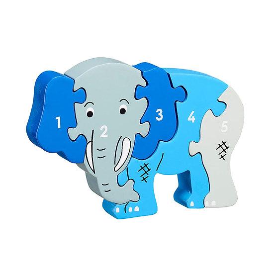 Elephant 1-5 Puzzle by Lanka Kade