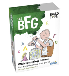 The BFG Whizzpopping Letters Card Games