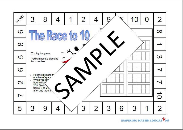 Maths Board Games
