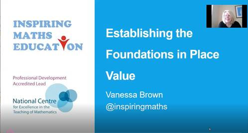 Establishing the Foundations in Place Value