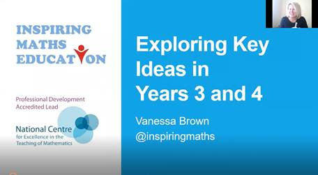 Exploring Key Ideas in Mathematics in Years 3 & 4