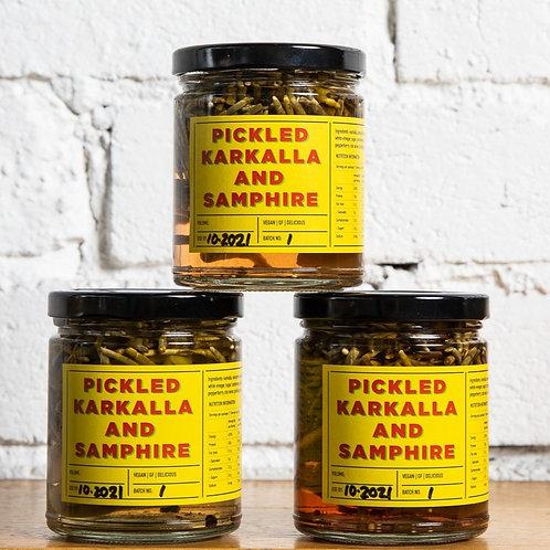 Pickled Karkalla