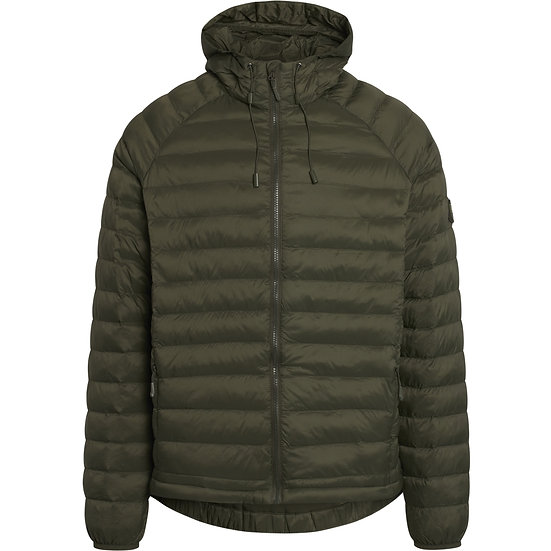 Knowledge Cotton Apparel Eco Active Thermore Hooded Jacket