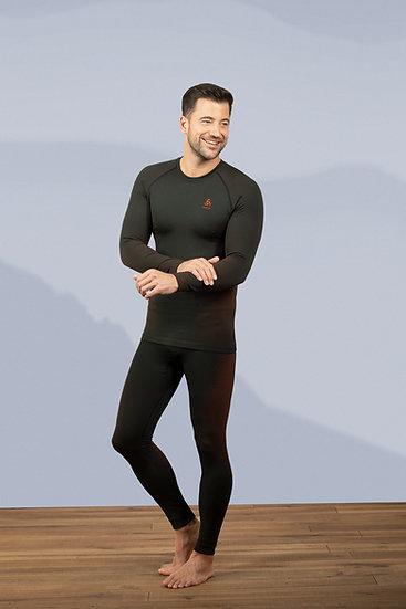 Odlo Mens Performance Warm 3/4 Pants