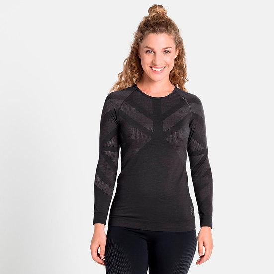 Odlo Women's Natural + Kinship Warm Long-Sleeve Baselayer