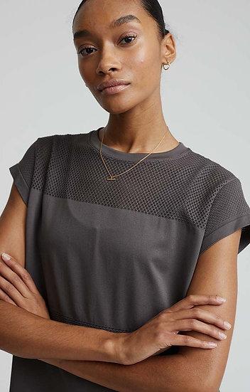 Varley Carley T-Shirt - Deep Charcoal