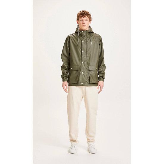 Knowledge Cotton Apparel Lake Short Rain Jacket