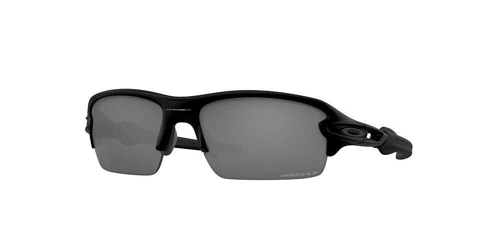 Oakley Flak XS Black Black Polarised