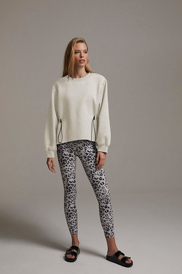 Varley Bella Sweat Ivory Marl