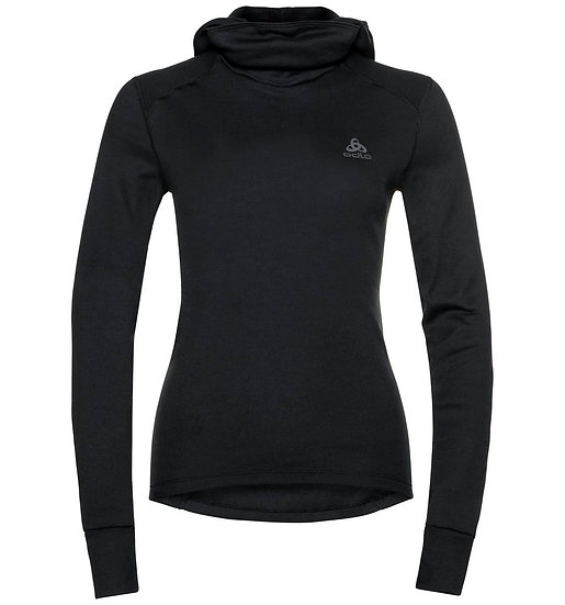 Odlo Women's Active Warm Baselayer Top with Facemask