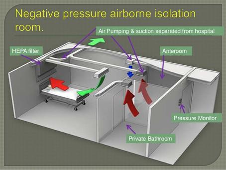 PATIENT ISOLATION ROOM NEGATIVE PRESSURE HVAC Preventing the Spread of COVID-19 Coronavirus