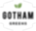 Gotham Greens Logo White Just the Shield