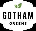 Gotham Greens Logo White Just the Shield