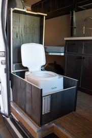 Van Toilet Box