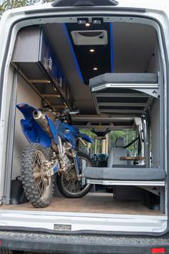 Paradigm Van Conversions Moto Bunks