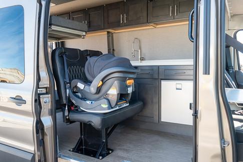 Van Conversion Baby Seat