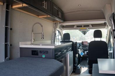 Van Conversion living area