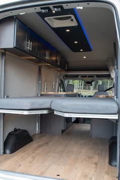 Paradigm Van Conversions Rear Bed Platform
