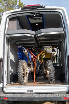 Paradigm Van Conversions Two Dirt Bikes