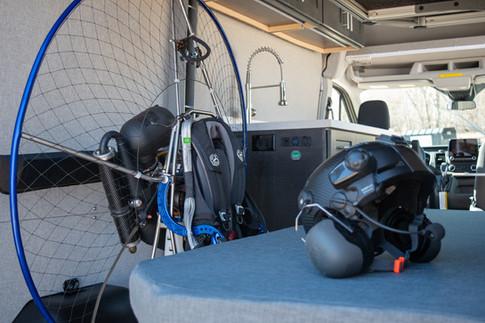 Powered Paraglider Van