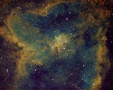Heart Nebula Hubble Pallet