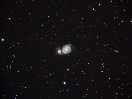 A start on M51 The Whirlpool Galaxy