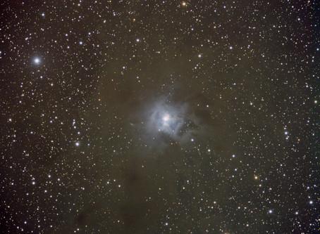 The Iris Nebula NGC 7023 in RGB