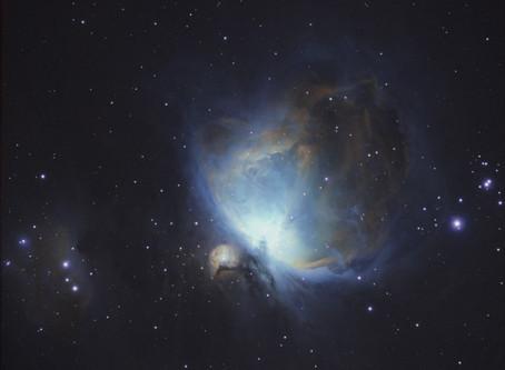 In Progress: The Orion Nebula M42