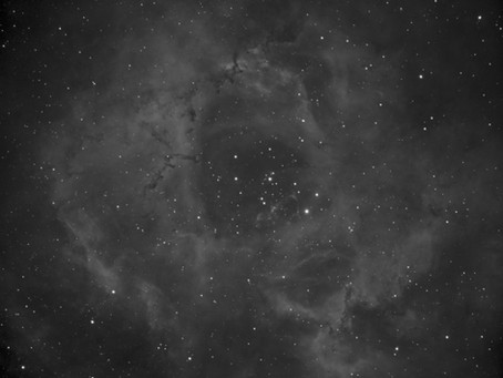 Starting on the Rosette Nebula