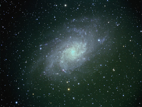 M33 The Triangulum Galaxy revisited.