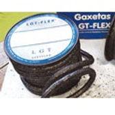 LGT-FLEX® 20.610: Gaxeta de Fibra Sintética Redonda Grafitada