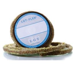 LGT-FLEX® 21.530: Gaxeta de Fibra Vegetal Rami Ensebada ou Grafitada