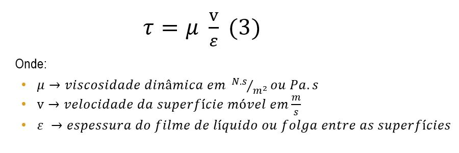 Lei de Newton da Viscosidade - Aproximação Prática.