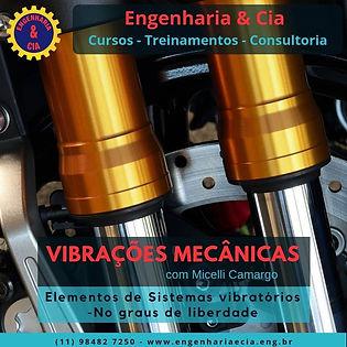 Elementos de um Sistema Vibratório - Número de Graus de Liberdade