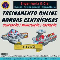 TREINAMENTO BOMBA CENTRÍFUGA: CONCEPÇÃO - MANUTENÇÃO - OPERAÇÃO