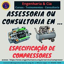 Especificação de Compressores