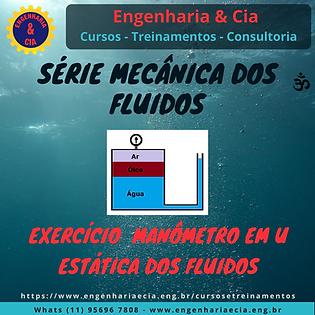 Exercício Manometria: Manômetro em U