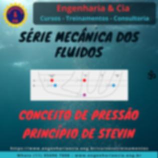 Conceito de Pressão e Princípio de Stevin   Estática dos Fluidos
