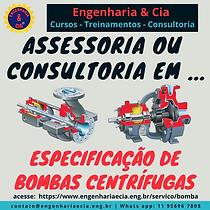 Especificação de Bombas Centrífugas