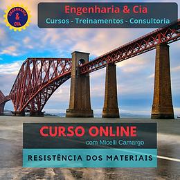 CURSO RESISTÊNCIA DOS MATERIAIS