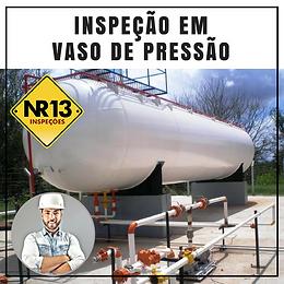 CURSO INSPEÇÃO EM VASO DE PRESSÃO NR13
