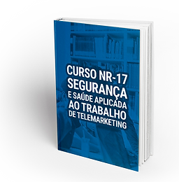 CURSO NR17 SEGURANÇA E SAÚDE APLICADA AO TRABALHO DE TELEMARKETING