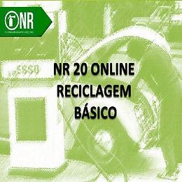 CURSO NR20 BÁSICO - RECICLAGEM - SEGURANÇA E SAÚDE NO TRABALHO COM INFLAMÁVEIS E COMBUSTÍVEIS