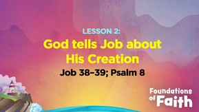 God tells Job About His Creation