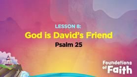 God is David's Friend