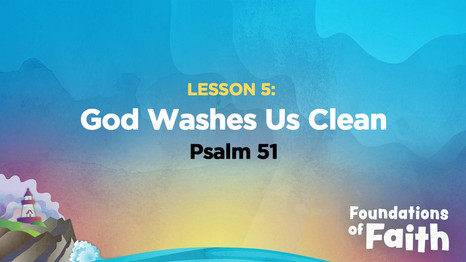 God Washes Us Clean